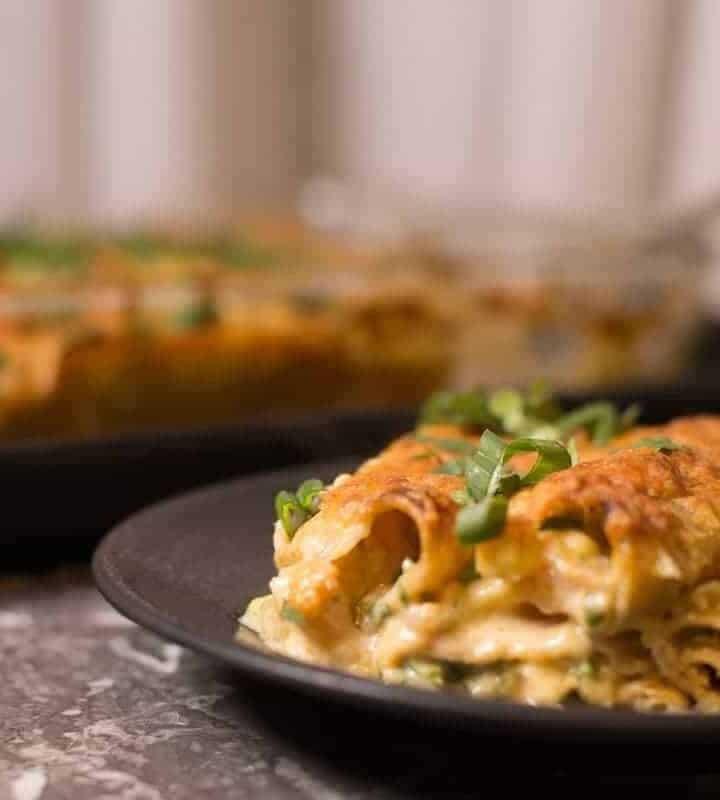 Creamy Shrimp Enchiladas recipe