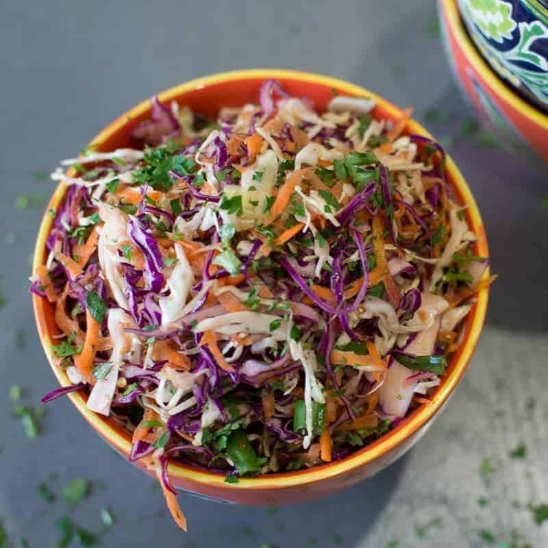 Spicy Cabbage Slaw Recipe