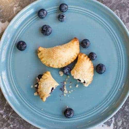 Blueberry Mini Pies