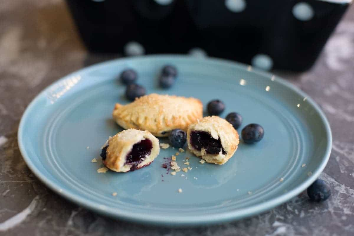 Blueberry Mini Pies
