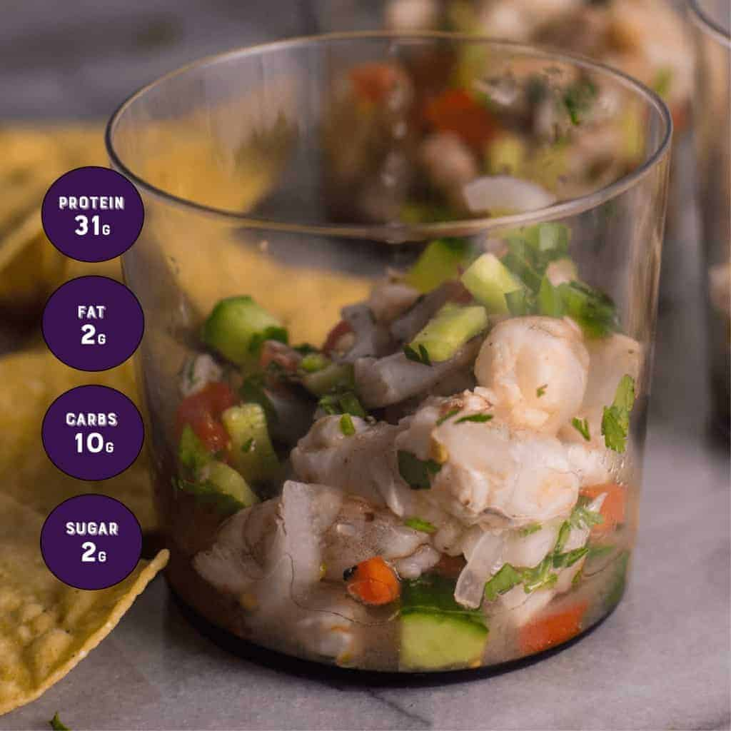 Easy shrimp ceviche recipe by foodology geek