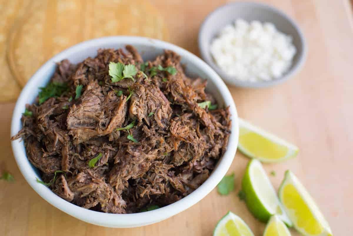 Slow Cooker Shredded Beef