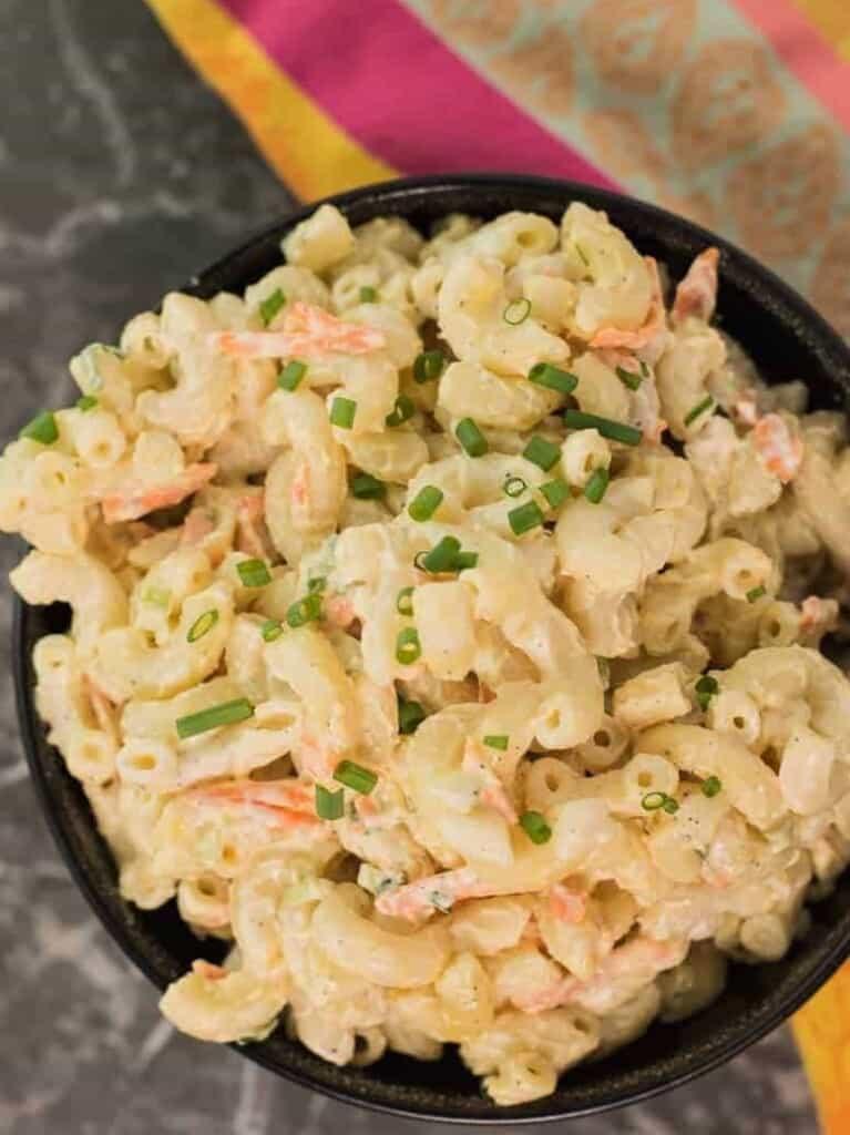 Authentic Hawaiian Mac Salad Recipe