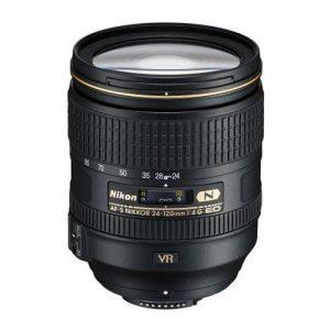 Nikon 24-120mm f:4G ED-IF AF-S NIKKOR VR Vibration Reduction NIKKOR Lens