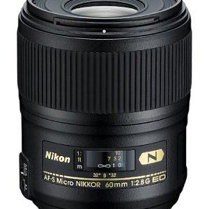 Nikon AF-S FX Micro-NIKKOR 2177 60mm f:2.8G ED Standard Macro Lens for Nikon DSLR Cameras