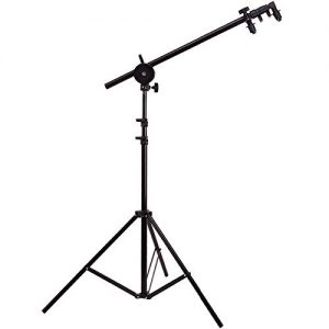 Swivel Head Reflector Support Holder Arm, Boom Stand Arm Bar, Light Stand Tripod Studio Equipment Photography Photo Arm Support Holder