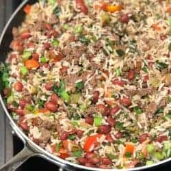 Puerto Rican Dirty Rice – Rice and Beans