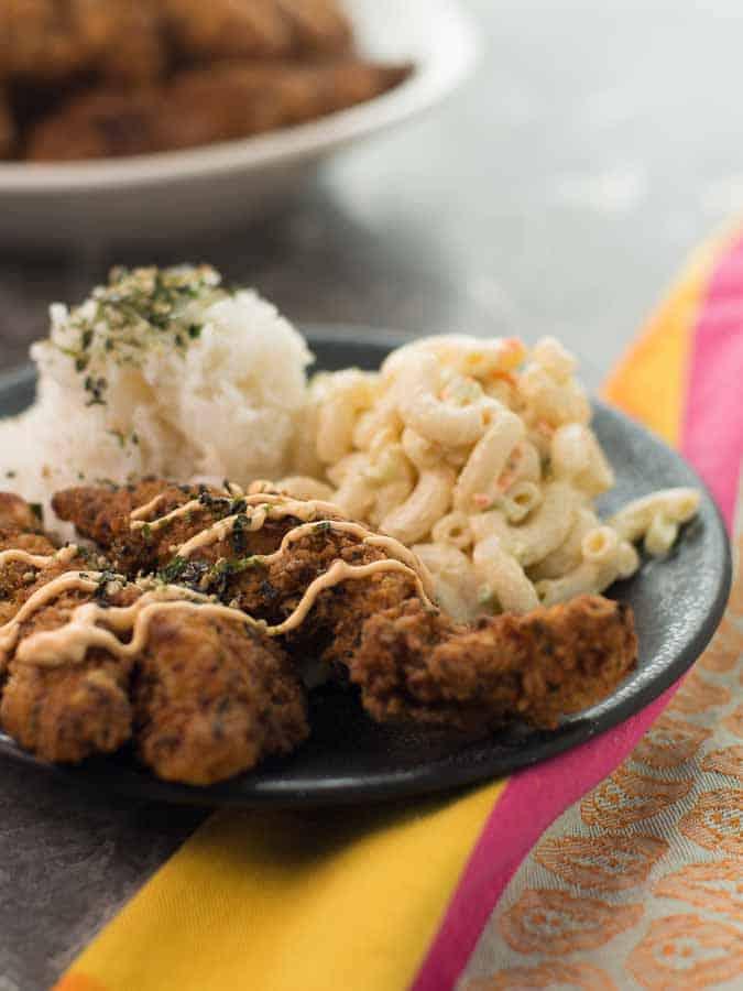 Hawaiian Style Fried Chicken