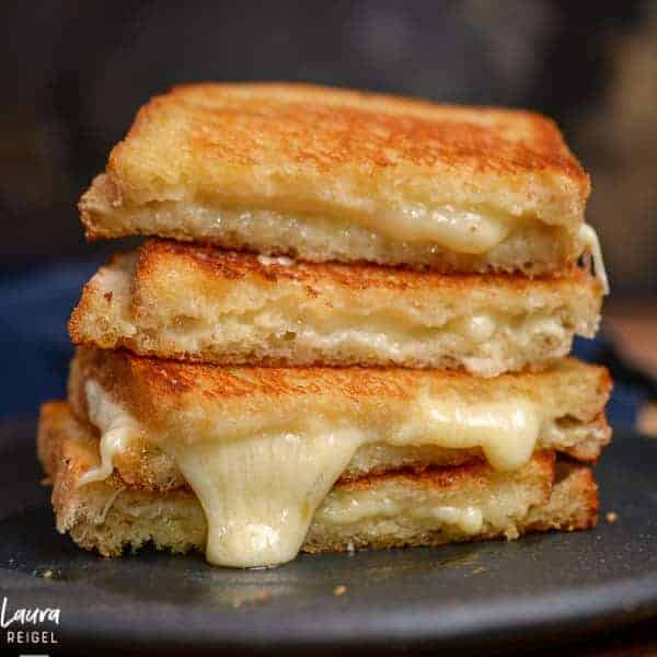 Sourdough grilled cheese recipe by foodology geek