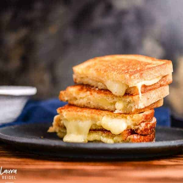 Super Melty Grilled Cheese with Sourdough