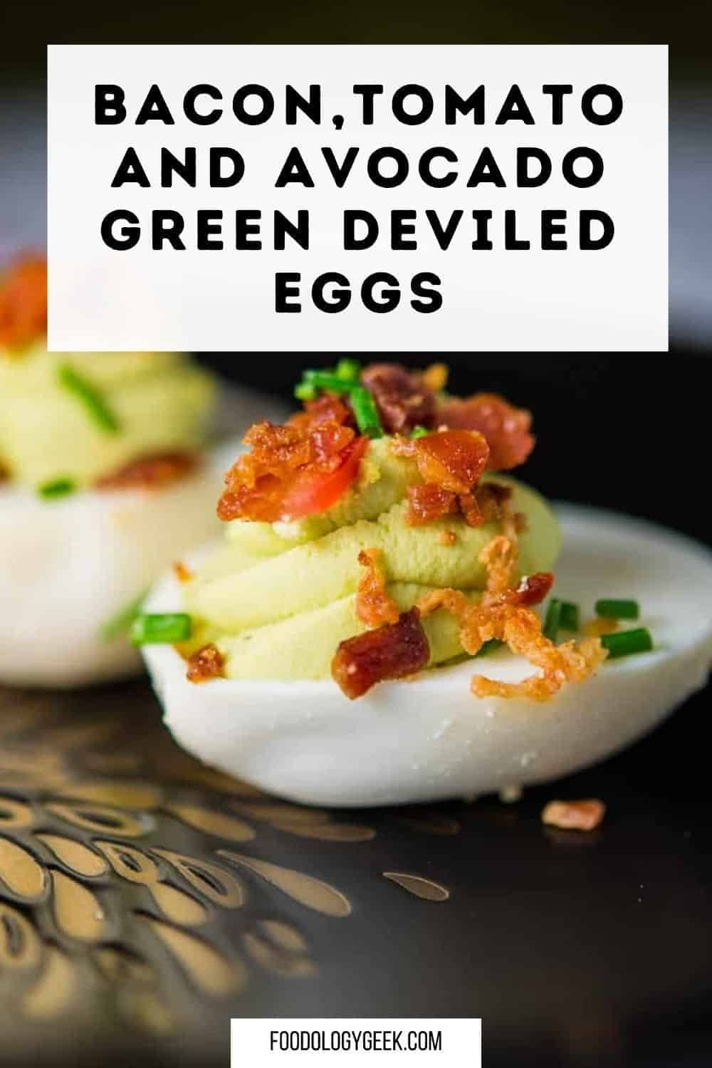 Up your nutrition game with these Bacon, Tomato, and Avocado Deviled Eggs. These paleo deviled eggs made without mayo are about to rock your Holiday! Deviled eggs with bacon – who's in?