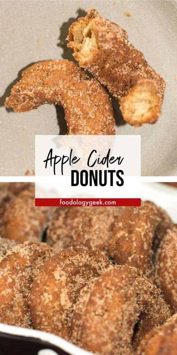 apple cider donut pinterest image by foodology geek