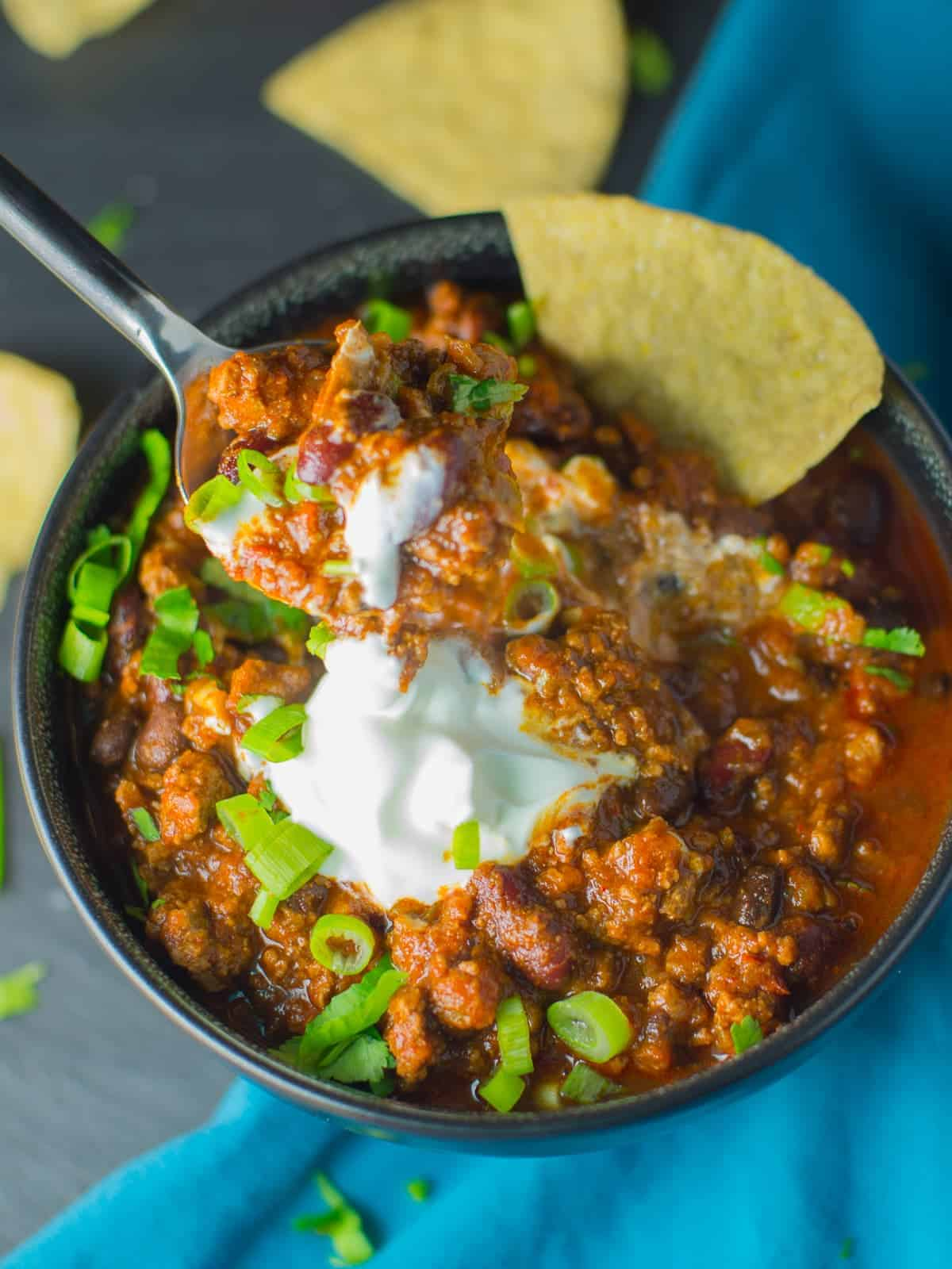 The Best Classic Beef Chili