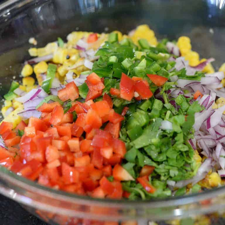 Roasted Corn Salsa Ingredients