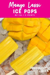 Refreshing Mango Lassi Ice Pops Pinterest