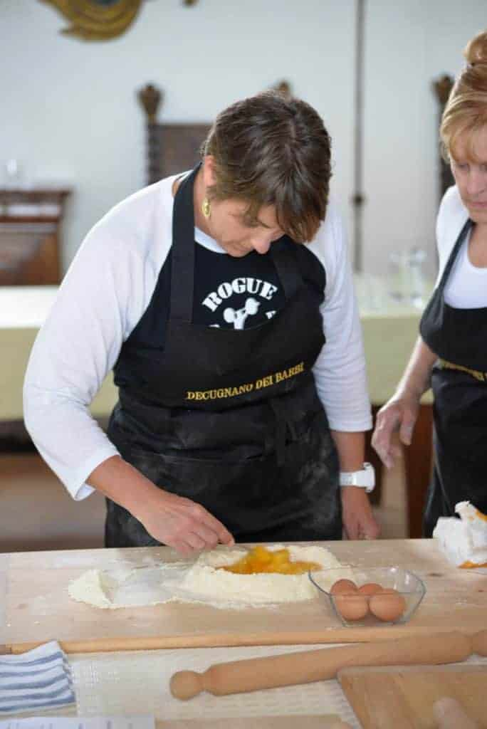 Laure Reigel Cooking School in Italy
