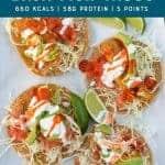 air fryer baja fish tacos pinterest image by foodology geek