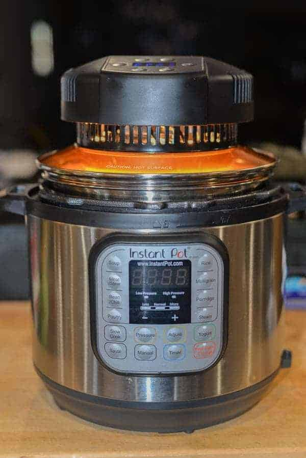 Mealthy Crisplid turns your Instant Pot into an airfryer.