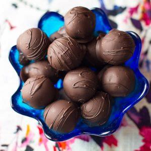 easy homemade truffles