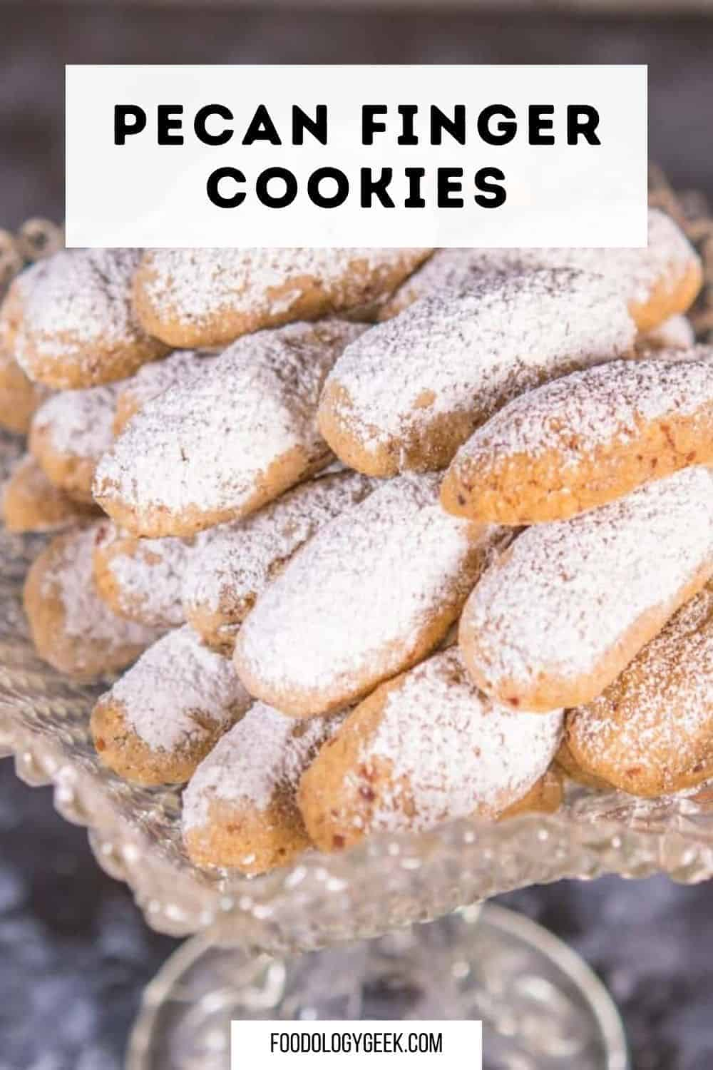These cookies are similar to shortbread cookies. Once out of the oven, and slightly cooled, toss these cookies in powdered sugar. The cookies themselves are more nutty than sweet.