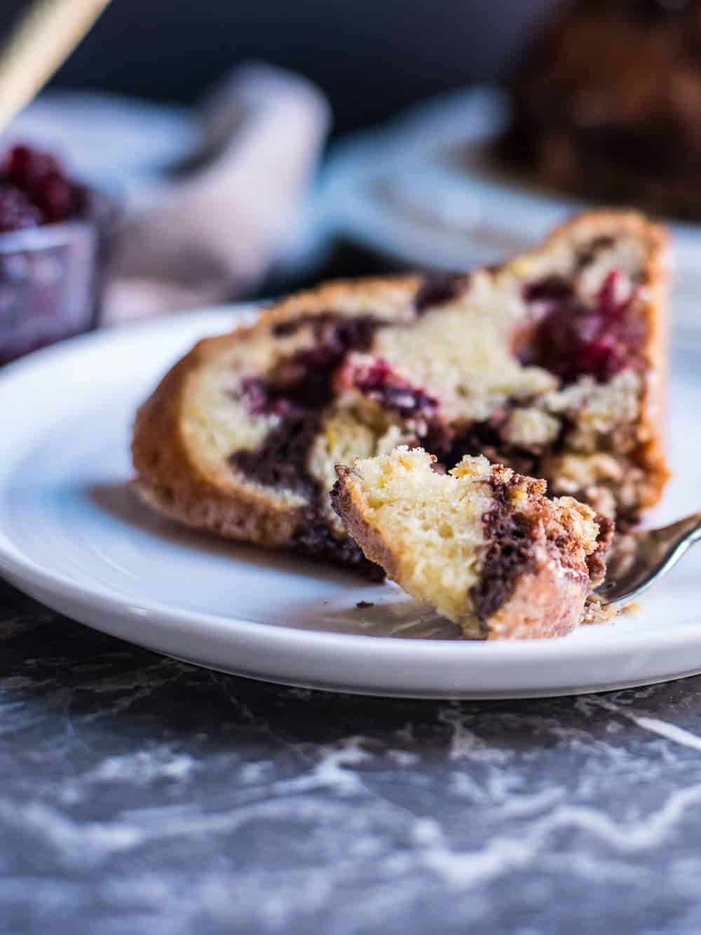cranberry sauce coffee cake recipe