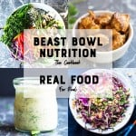 cookbook cover image for foodology geek beast bowl nutrition cookbook healthy meal prep recipes