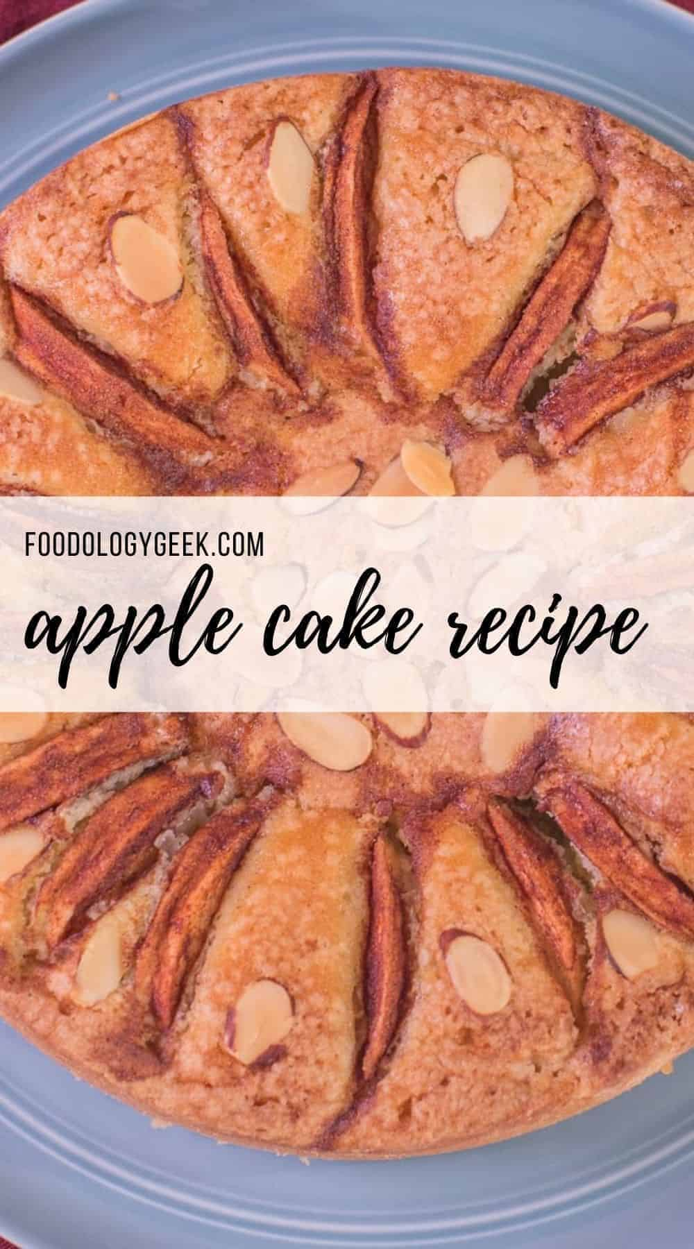 This apple cake recipe is everything that apple cake be. It has a lovely apple flavor and the perfect amount of spics. I serve this recipe with a decadent vanilla pastry cream!