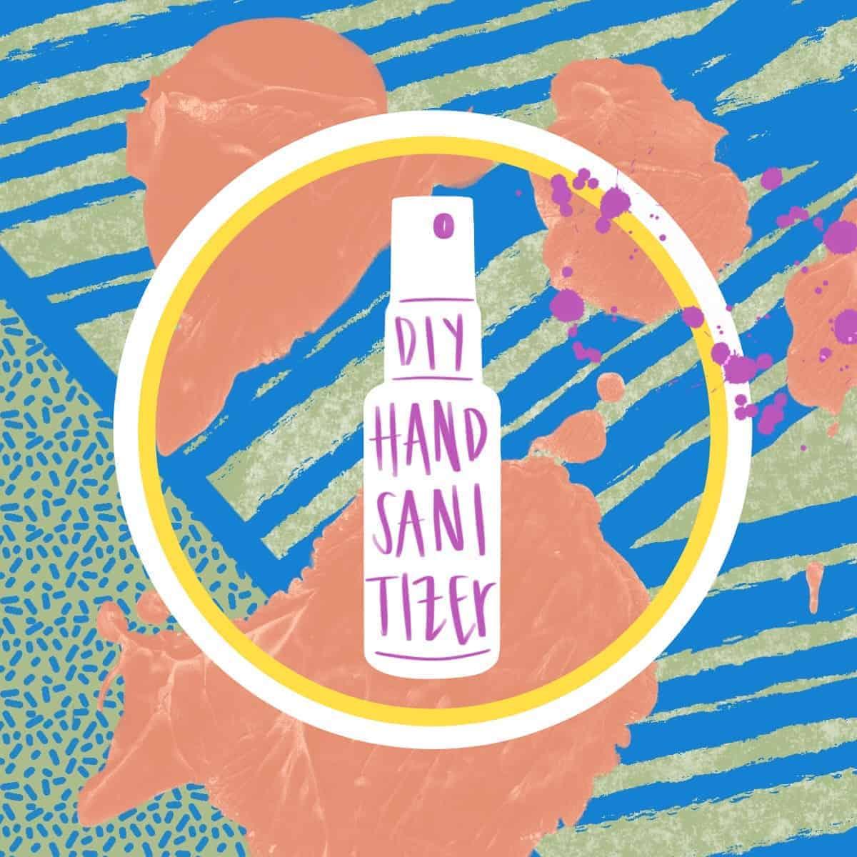 diy hand sanitizer recipe by foodology geek.
