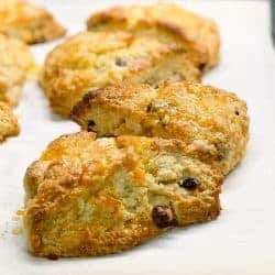 cranberry orange scone recipe with candied orange