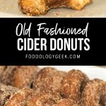 apple cider donuts pinterest image by foodology geek