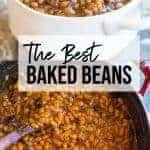 baked beans recipe | pinterest image | foodology geek