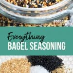 make your own everything bagel topping | foodology geek