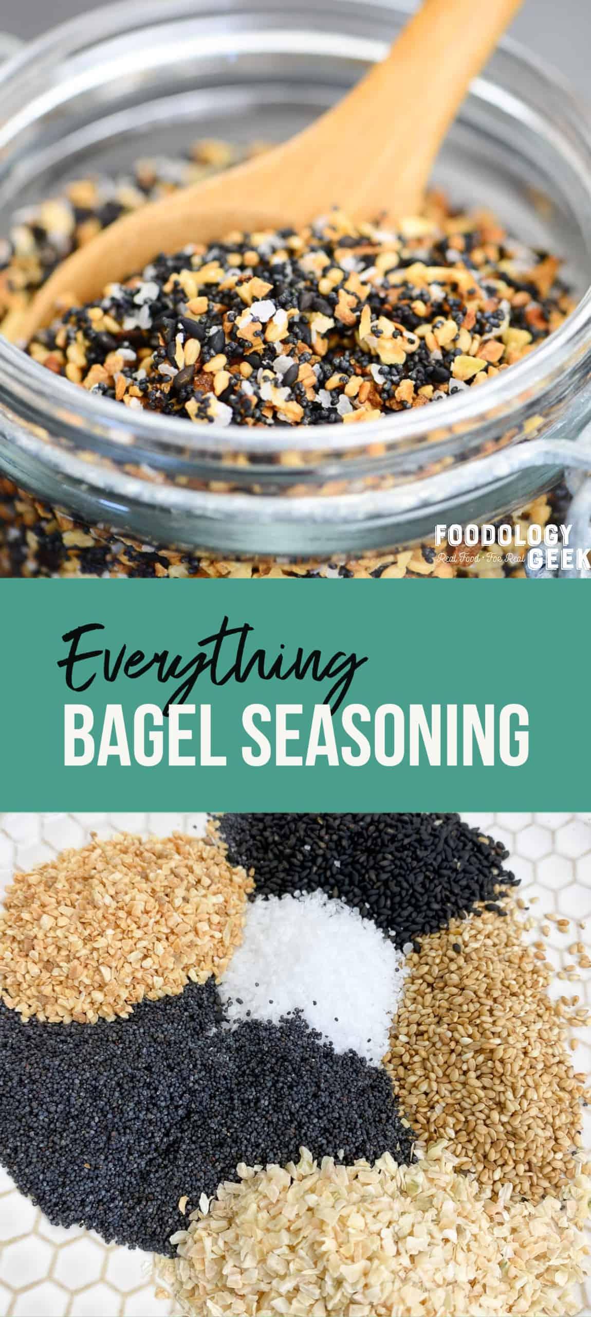 make your own everything bagel topping   foodology geek
