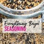 how to make everything bagel seasoning at home | foodology geek