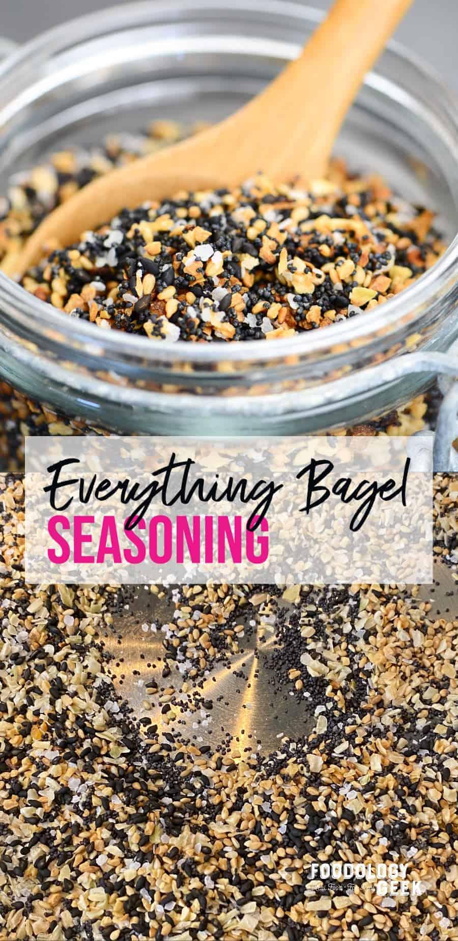 how to make everything bagel seasoning at home   foodology geek