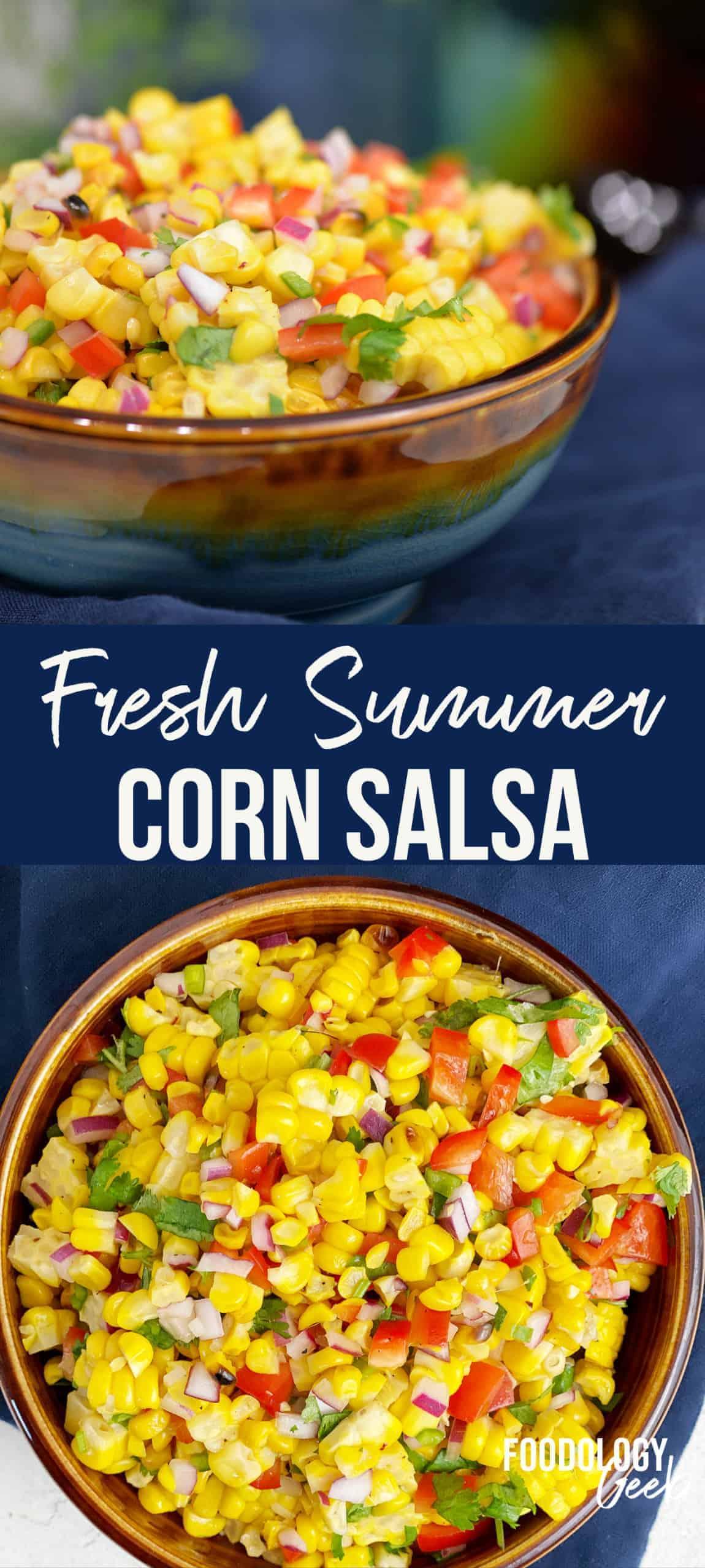 Summer Corn Salsa Recipe