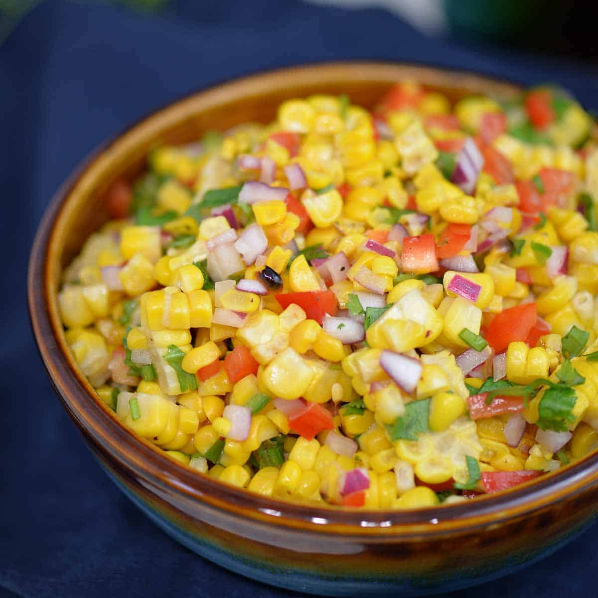 corn salsa recipe | foodology geek