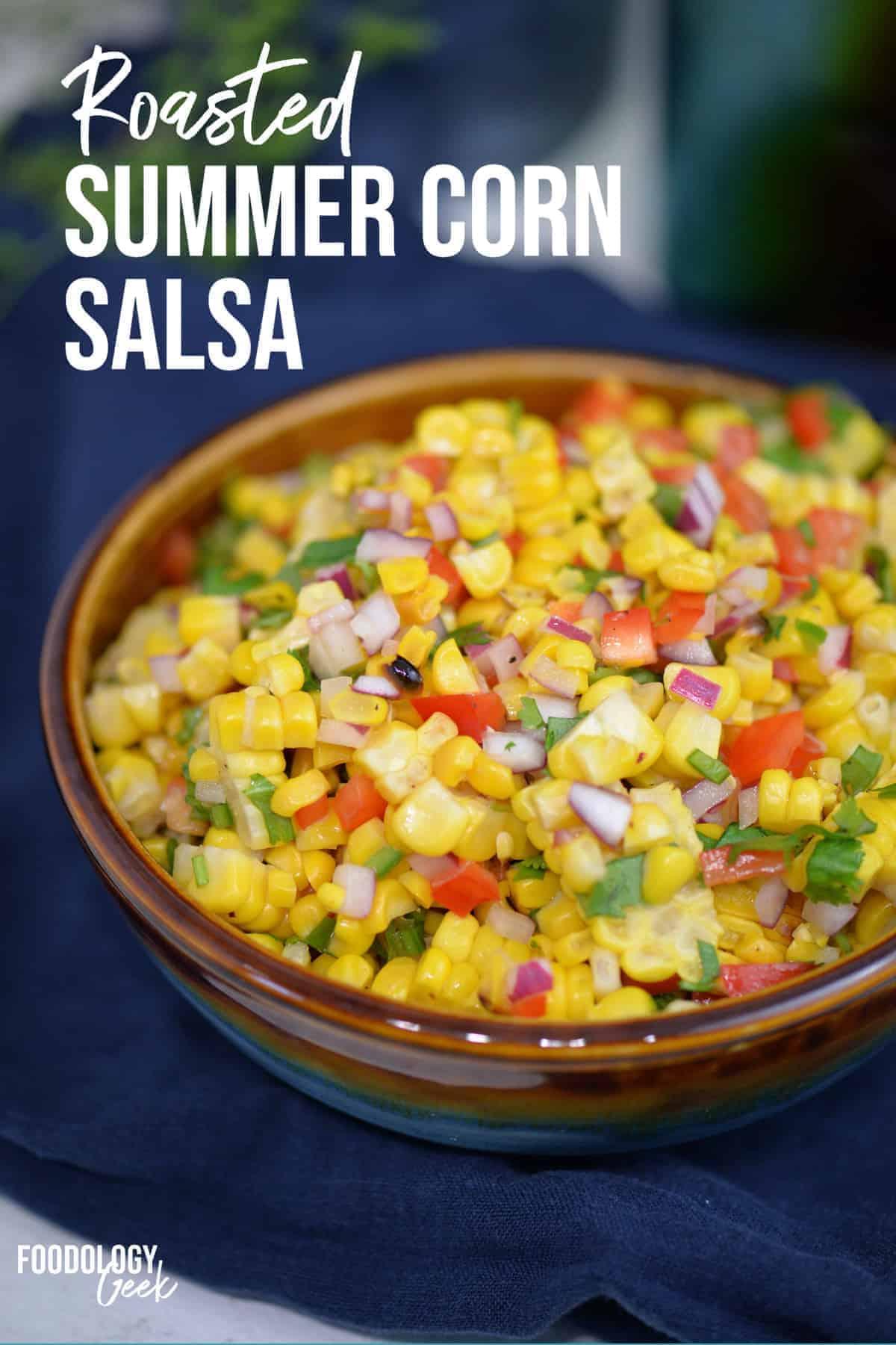 roasted corn salsa pinterest image