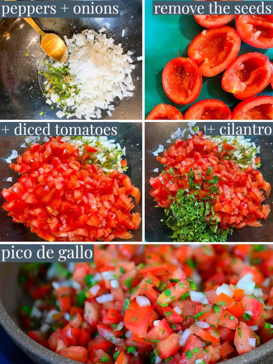 step by step photos for pico de gallo