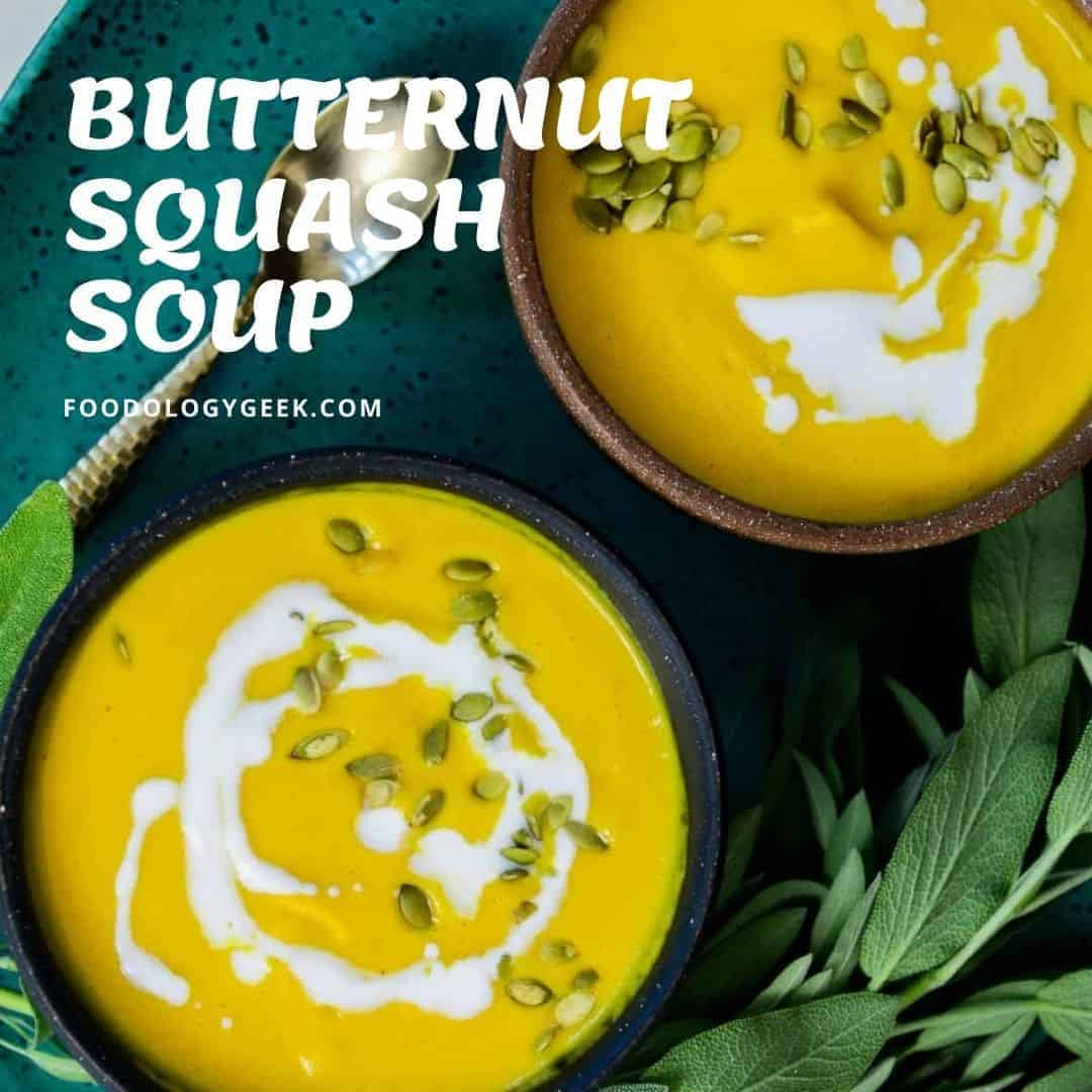 The best butternut squash soup recipe, this is it! Included are the directions for Stovetop, Instant Pot, Slow Cooker, and Roasted Butternut Squash Soup.