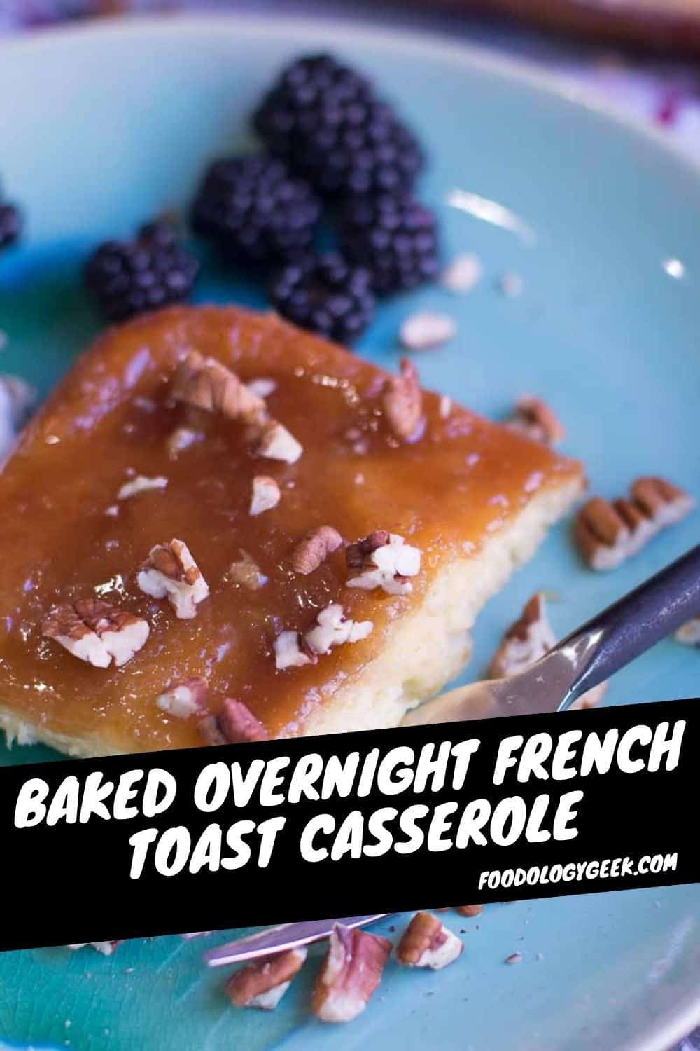 Creme Brûlée French Toast Casserole — when you want a breakfast that looks ultra-fancy but need a recipe that's super easy!