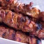 bbq pork kebabs pinterest image