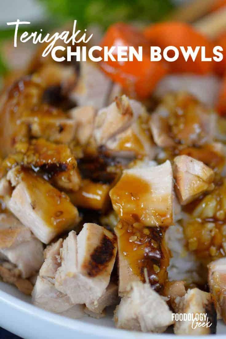 teriyaki chicken bowl pinterest image