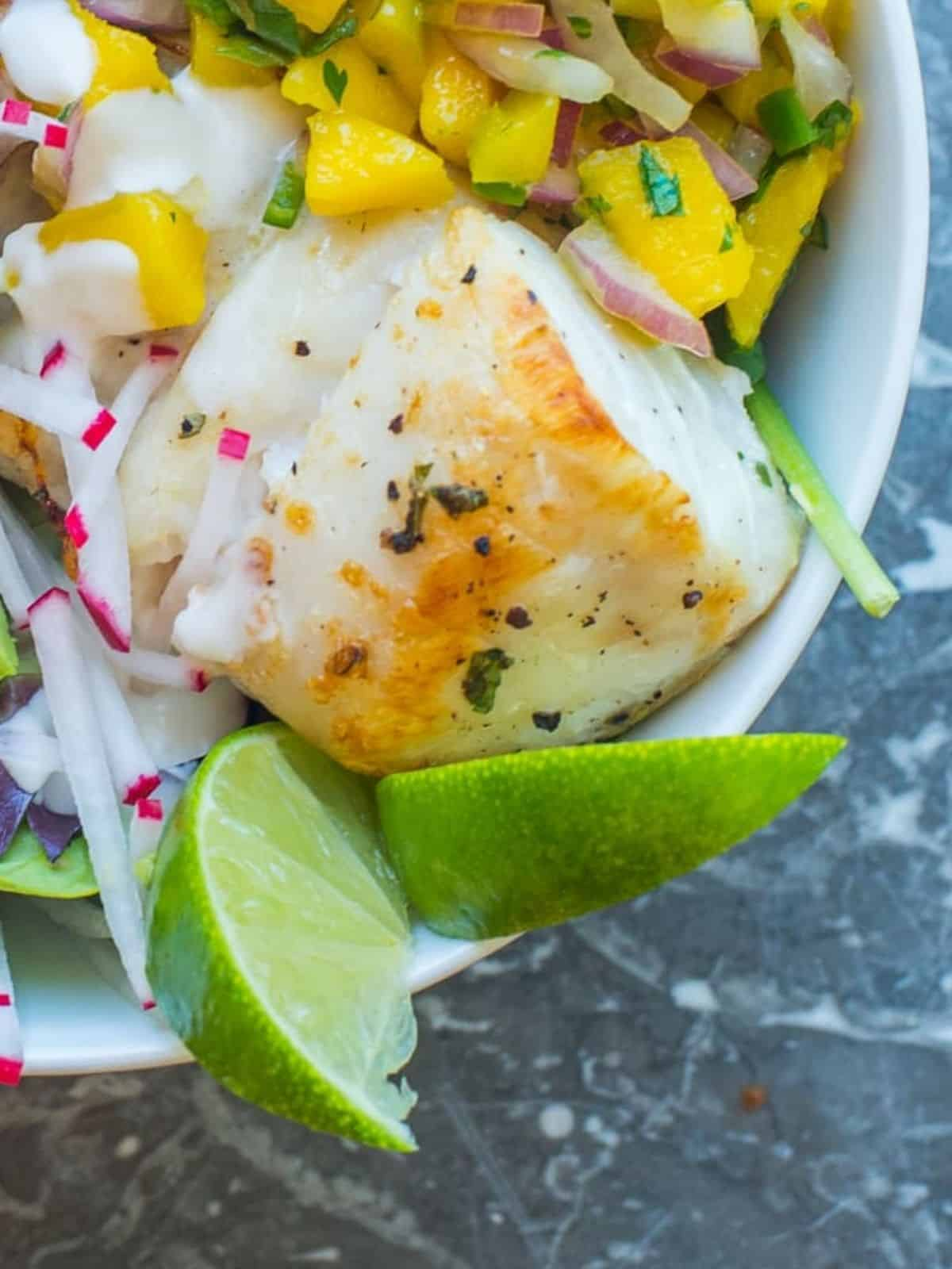 seafood marinated in tequila lime marinade