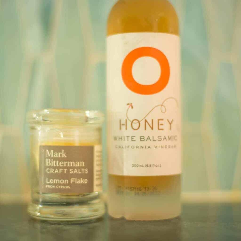 Mark Bitterman Salt and Honey White Balsamic Vinegar
