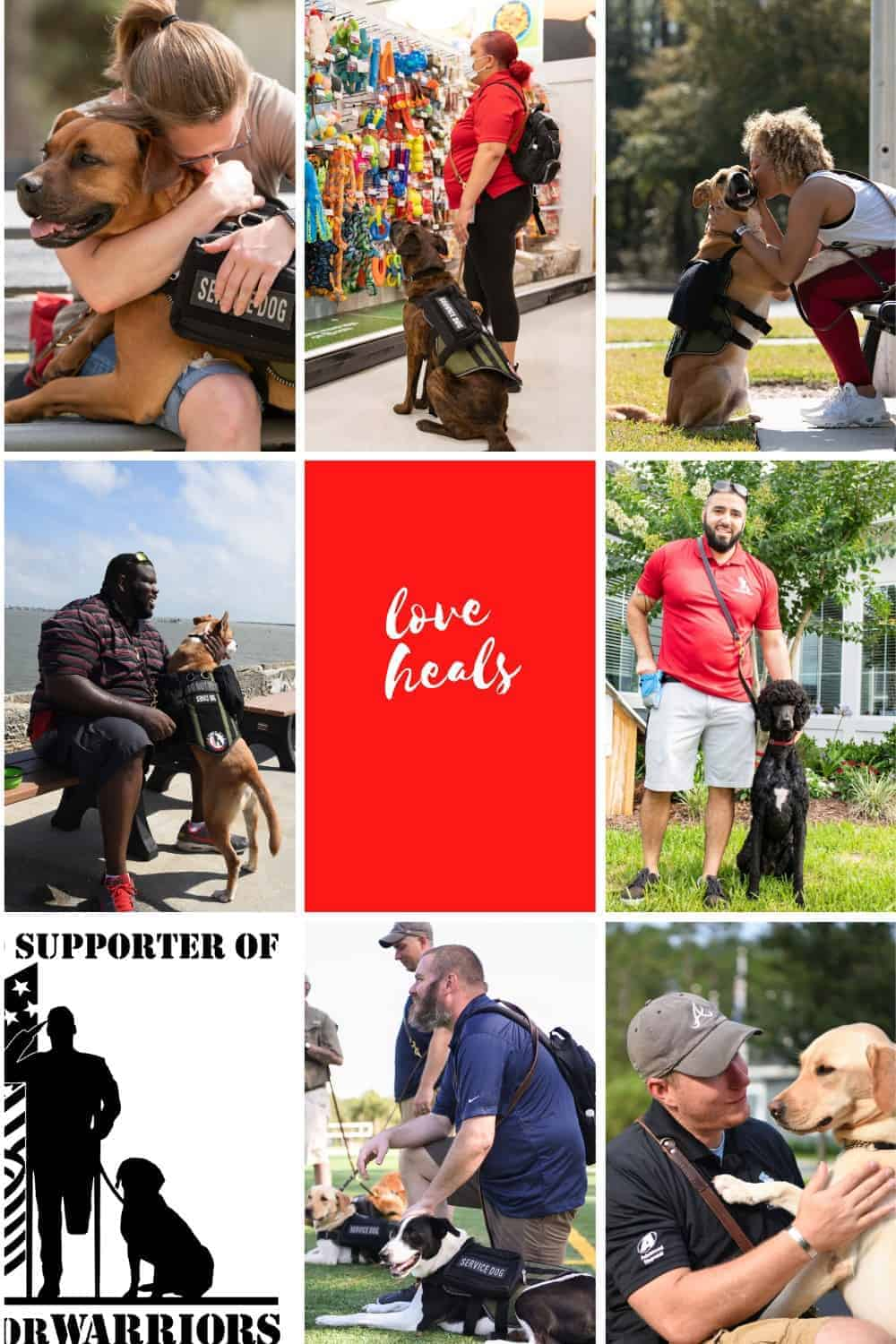 k9s for warriors giving campaign pinterest image