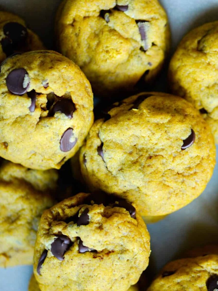 soft and chewy pumpkin chocolate chip cookies recipe