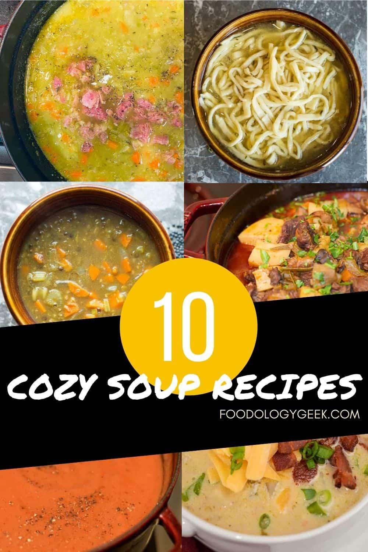 Cozy soup recipe