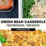 green bean casserole made from scratch