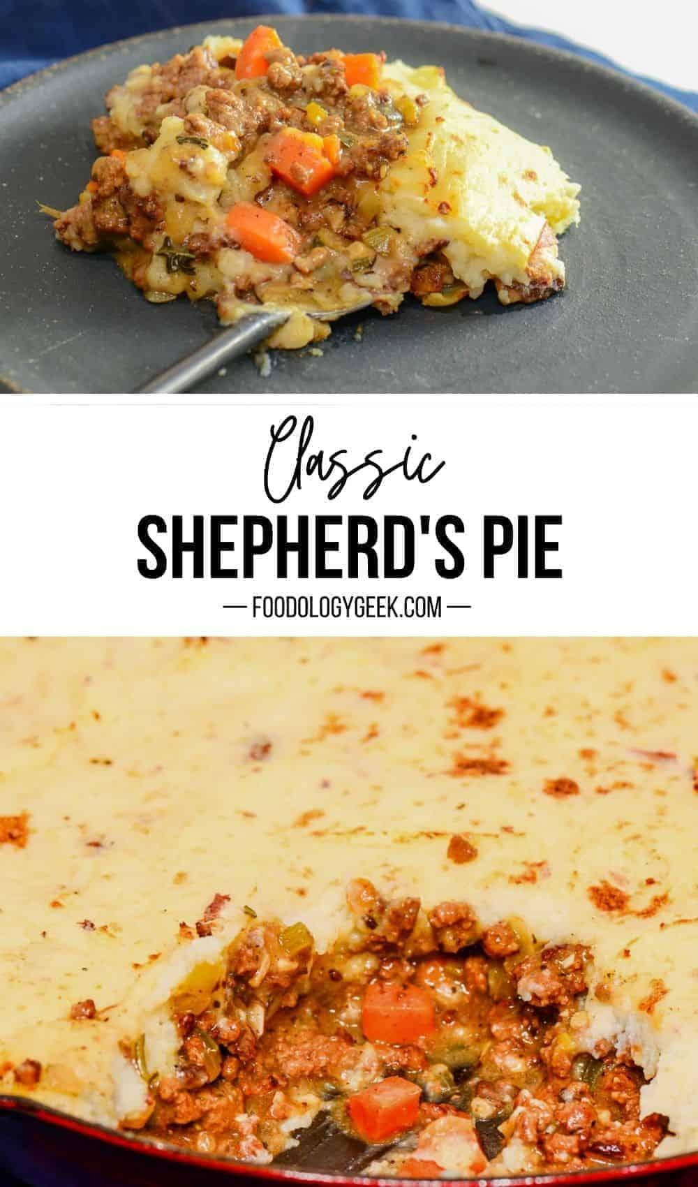 classic shepherds pie pinterest image